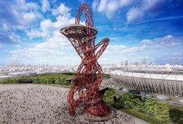بازافرینی برج بابل در کنار المپیک لندن