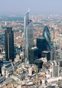 برج سازی در لندن