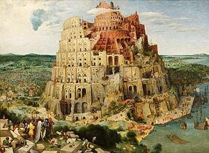 تصویر خیالی از برج بابل (آسمان، کبک، کلاغ ؛ بررسی علل واقعی بلندمرتبه سازی ؛ قسمت دوم)