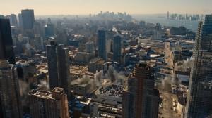 انفجار های مختلف در شهر صحنه هایی هستند که در فیلم های مختلف دیده ایم