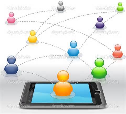تلفن به عنوان دریچه ای برای شبکه های اجتماعی