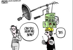 us spionage caricature  (6) (بی خیال، لایکش کن ؛ سیاست دولت درباره امنیت فضای مجازی چیست؟)