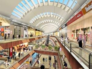 مال ها (مراکز خرید سرپوشیده خطی) در سراسر جهان