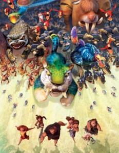 دنیایی از حیوانات تخیلی و ترکیبی (چگونه مدرنیسم میمون هایش را از غار دین نجات داد! ؛ نقد، تحلیل و بررسی انیمیشن کرودز the croods)