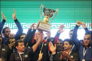 سومین قهرمانی پیاپی کشتی گیران ایران در جام جهانی