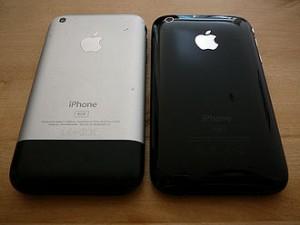 ۳۳۰px-IPhone_&_iPhone_3G (آیفون شش: نقطه شکست ؛ بررسی ریشه های طراحی آیفون)