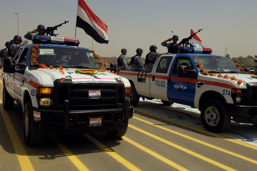 Iraq Police 4 ford